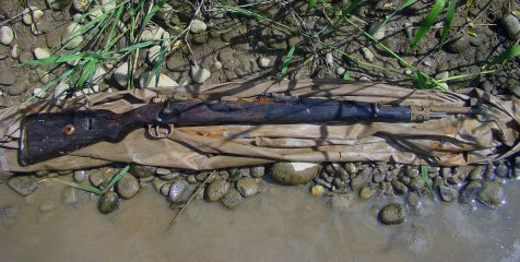 WW1 rifle fished out from river