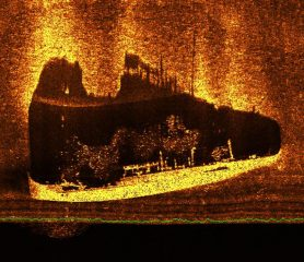 Wreck of a Greek vessel found off Izmir's coast