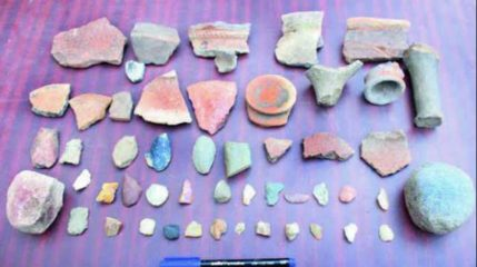 Neolithic and Chalcolithic tools found in Eastern India