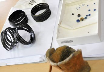 Iron Age treasure found in Polish Subcarpathian region