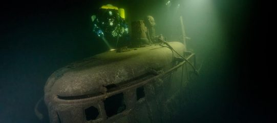 Wrecks of two soviet submarines found in Baltic Sea