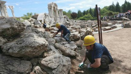 Over 50000 artefacts discovered at Old Summer Palace site