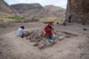Pottery dated to Sassanid Era discovered