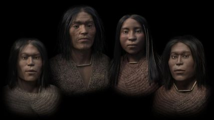 Reconstruction of a 3700-year-old family from British Columbia