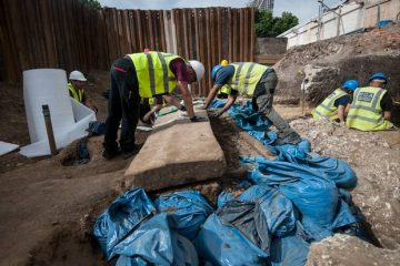 Ancient Roman sarcophagus discovered at construction site