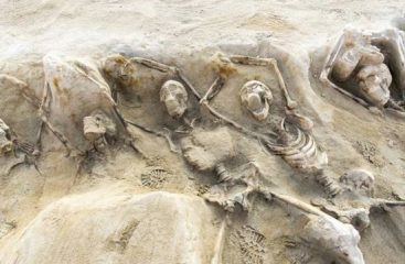Bioarchaeologists identify remains of Cylon's soldiers