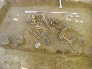 Bronze-age tombs shed light on Prehistoric trade routes