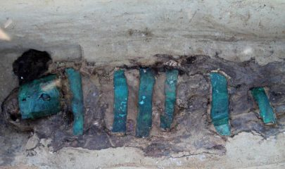Burials covered in copper found in Siberia
