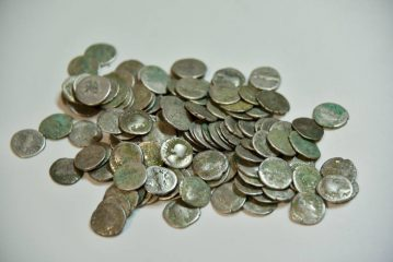 Cache of over 200 ancient Roman silver coins found