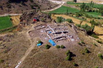 Paint workshop from 6000 BC unearthed at settlement mound