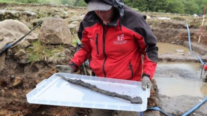 Numerous Roman finds at the Vindolanda fort