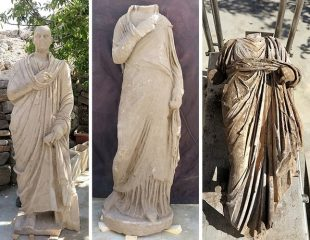 Statues of civil servants found in ancient Side