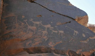 Prehistoric rock art found in South Egypt