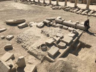 Olive mill uncovered in ancient Greek city