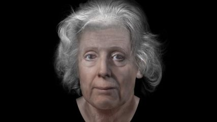 Facial reconstruction of Scottish woman persecuted for witchcraft