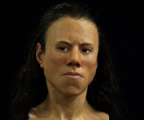 Facial reconstruction of a Greek Mesolithic girl