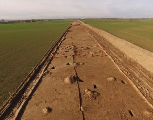 Wind farm construction leads to numerous archaeological finds