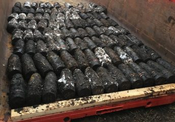 Over 160 artillery shells found in a bog