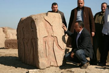 Stele of Ramesses II unearthed