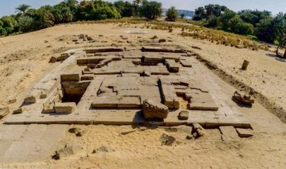 Roman temple discovered in Egypt