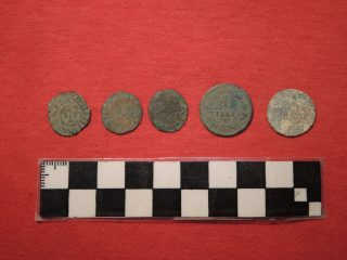 Cache of coins found by construction workers