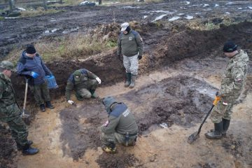 Mass grave of decapitated soldiers from The Polish–Soviet War unearthed
