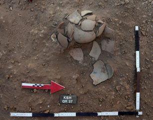 Unique graves of infants unearthed