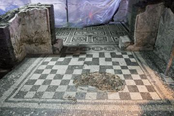 Roman Commander's House uncovered during metro construction